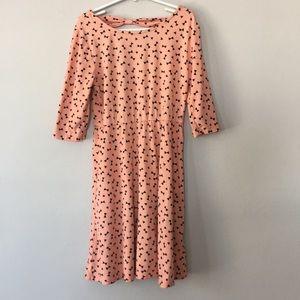 3/$20 Pink Bow Girls Dress Size L (10/12)